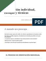 Orientación individual, enfoque y técnicas.ppt