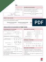 Igualdad y ecuaciones