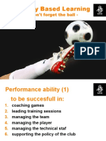 Reality Based Learning - don't forget the ball