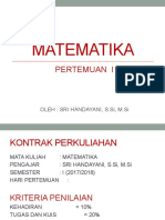 MATEMATIKA P-I