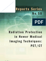 SRS N 58. Radiation Protection in PET CT