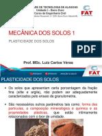 MSolos1 - 3 - Plasticidade dos solos