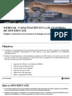 Capacitación AWS Instructores ETI-DN
