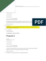 Evaluación Inicial gestion de proyectos