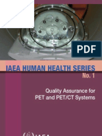 IAEA Human Health Series N 1. PET and PET CT Systems