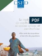 Lacombe Morgane  et Aronson James, 2008. La restauration du capital naturel en zones arides et semi-arides. Allier santé des écosystèmes et bien-être des populations