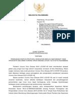 SURAT EDARAN WAKO TTG COVID PASCA PSBB 2020.pdf