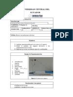 Vectores en el espacio Formato Documento de Informe final