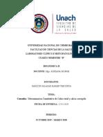 Informe N ª11  Determinacion Cuantitativa de calcio total y corregido   -Karen Garzon