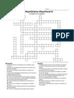 crucigrama endocrino fisiologia himana