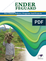 GENDER SAFEGUARD for Climate Policy, Program and Project_SP