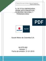 m Gtr 002 Manual de Etica Empresarial