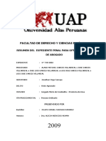 INFORME EXP.PENAL  - ROBO AGRAVADO - UAP