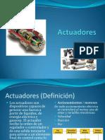 Sistemas de Control I - Exposicion - Actuadores