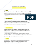 Effective Methods to Start and End a Speech.docx