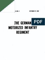SS No. 4, The German Motorised Infantry Regiment