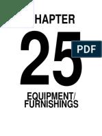 Chapter25-Equipment Furnishings