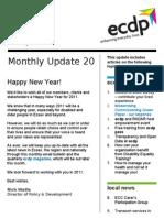 ecdp Monthly Update 20