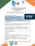 Guía de actividades y rúbrica de evaluación – Unidad 1 - Fase 2 – Estructura y planeación de desarrollo (1)