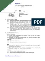 RPP kelas 4- Tema 6