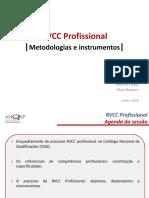 RVCC Profissional - Metodologias e instrumentos