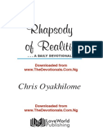 TheDevotionals-July 2020 Rhapsody of Realities