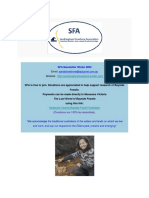 SFA Newsletter Winter 2020