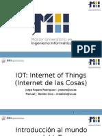 Introducción al mundo IoT