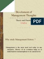 Unit-1-Develoment of Management