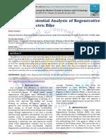 Design and Potential Analysis of Regenerative Braking in Electric Bike