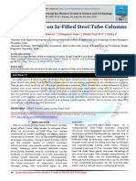 Blast Analysis on In-Filled Steel Tube Columns