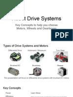 DesignRobotDriveSystem