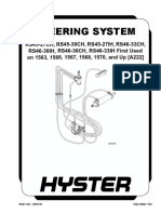 STEERING SYSTEM (FIRST USED ON 1563, 1566, 1567, 1568, 1570 AND UP)