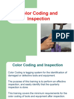 HSE-BMS-013 Color Coding and Inspection