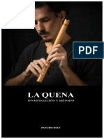 Pancho Diaz - La Quena Investigacion y Metodo - 2014
