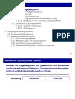 Kapitel 4.2 Methoden der Aufgabensynthese