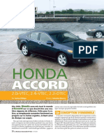 Moniteur Automobile Accord