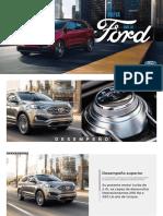 Ficha Técnica Ford Edge SEL 4x2