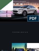 Ficha Técnica Ford Escape Híbrida 2020
