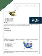 ATIVIDADE DE REVISÃO 8 ANO 1