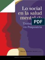 Lo social en la salud mental (I) TS en psiquiatría