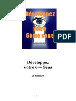 Developpez votre 6eme Sens -- Dr Milan RLZ.pdf