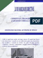 Liderazgo, Christian Zaragoza, 2005-1