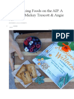 Reintroducing Foods on the AIP