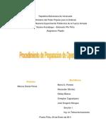 PPO - Procedimiento de Preparaciones Operaciones Militares
