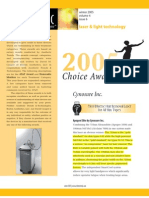 Cynosure Choice Award Reprint 051706