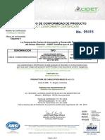 (71) R. 5415 Cables de Cu Flexible Multiconductor Fuerza (2)