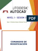 AutoCAD Nivel I Sesion 3