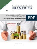 UNIDAD DIDACTICA 3 MATEMATICAS FINANCIERAS