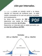 Ejemplo Estimacion Por intervalos.